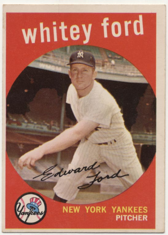 Lot #543 1959 Topps # 430 Ford Cond: Ex