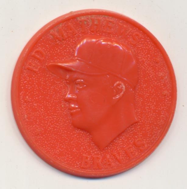 Lot #88 1960 Armour Coins  Mathews Cond: NM