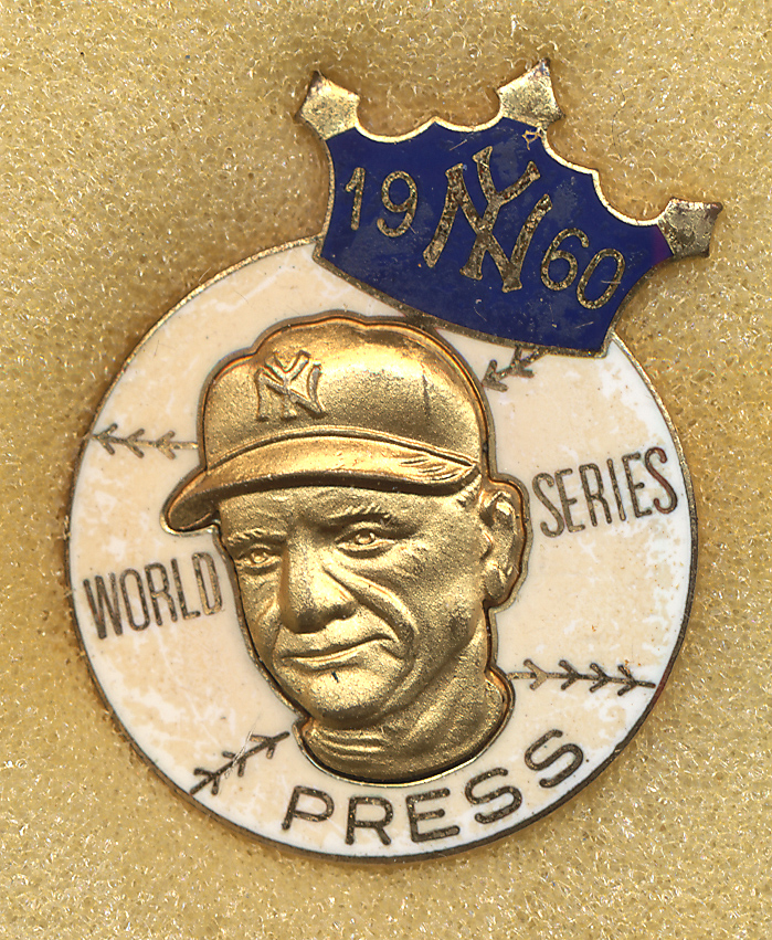 Lot #1488 1960 Press Pin  New York Yankees Cond: NM