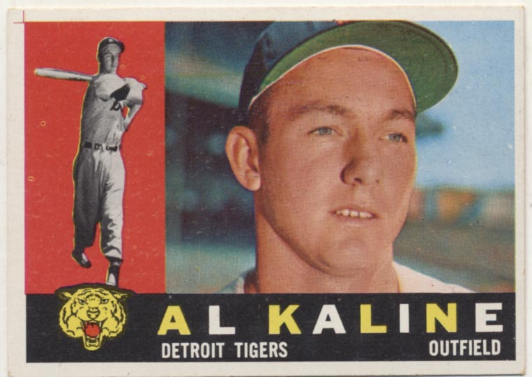 Lot #96 1960 Topps # 50 Kaline Cond: NM