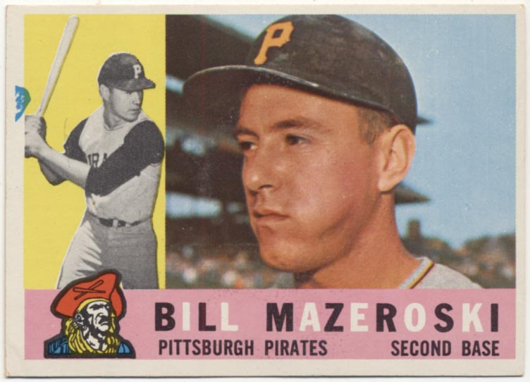 Lot #97 1960 Topps # 55 Maz Cond: NM