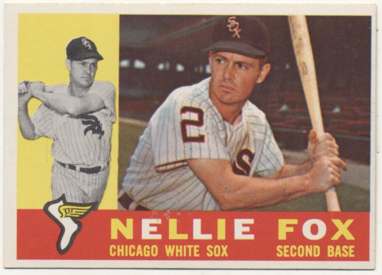 Lot #99 1960 Topps # 100 Fox Cond: Ex-Mt+