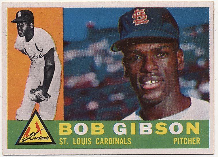 Lot #98 1960 Topps # 73 Gibson Cond: NM