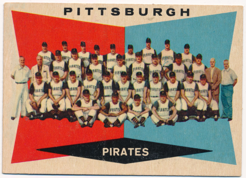 Lot #963 1960 Topps # 484 Pirates TC Cond: Ex-Mt