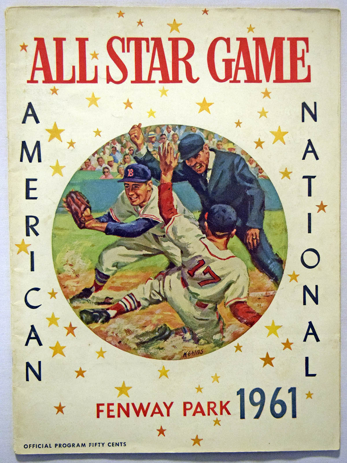 Lot #1779 1961    All Star Game at Fenway Cond: Ex