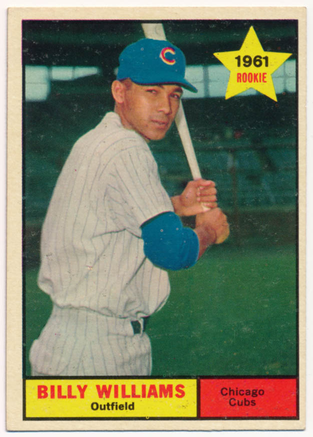 Lot #850 1961 Topps # 141 Williams RC Cond: Ex-Mt