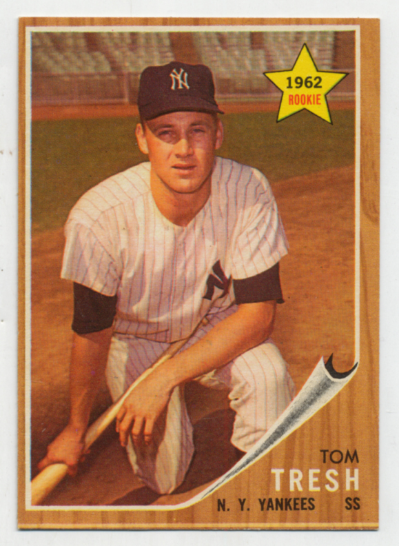 Lot #680 1962 Topps # 31 Tresh RC Cond: Ex-Mt