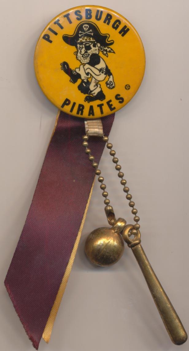 Lot #1490 1963    Pittsburgh Pirates w/ribbon Cond: Ex-Mt