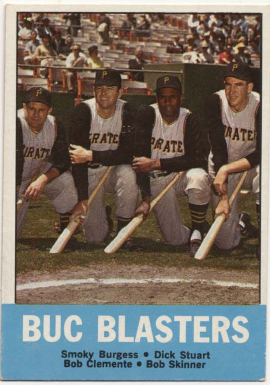 Lot #954 1963 Topps # 18 Clemente Special Cond: Ex-Mt