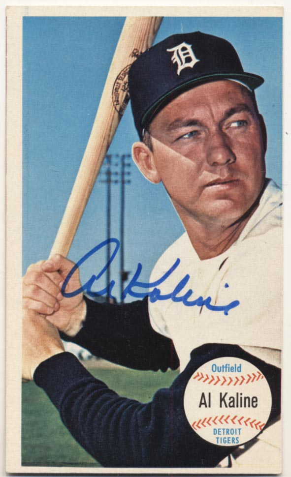 Lot #32 1964 Topps Giant # 12 Al Kaline Cond: 9.5