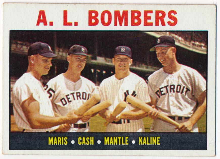 Lot #799 1964 Topps # 331 Mantle/Maris Et Al Cond: Ex