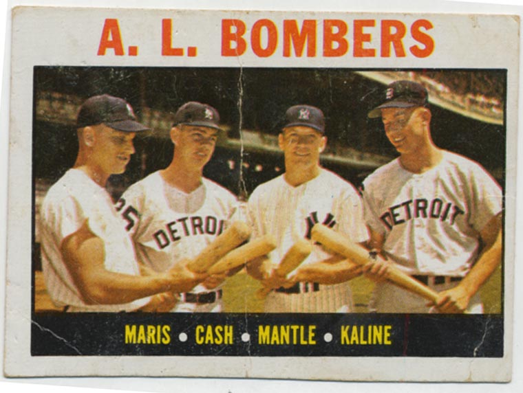 1964 Topps 331 Mantle/Maris Et Al Good