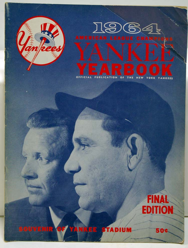 1964 Yearbook  New York Yankees (final ed.) GVG