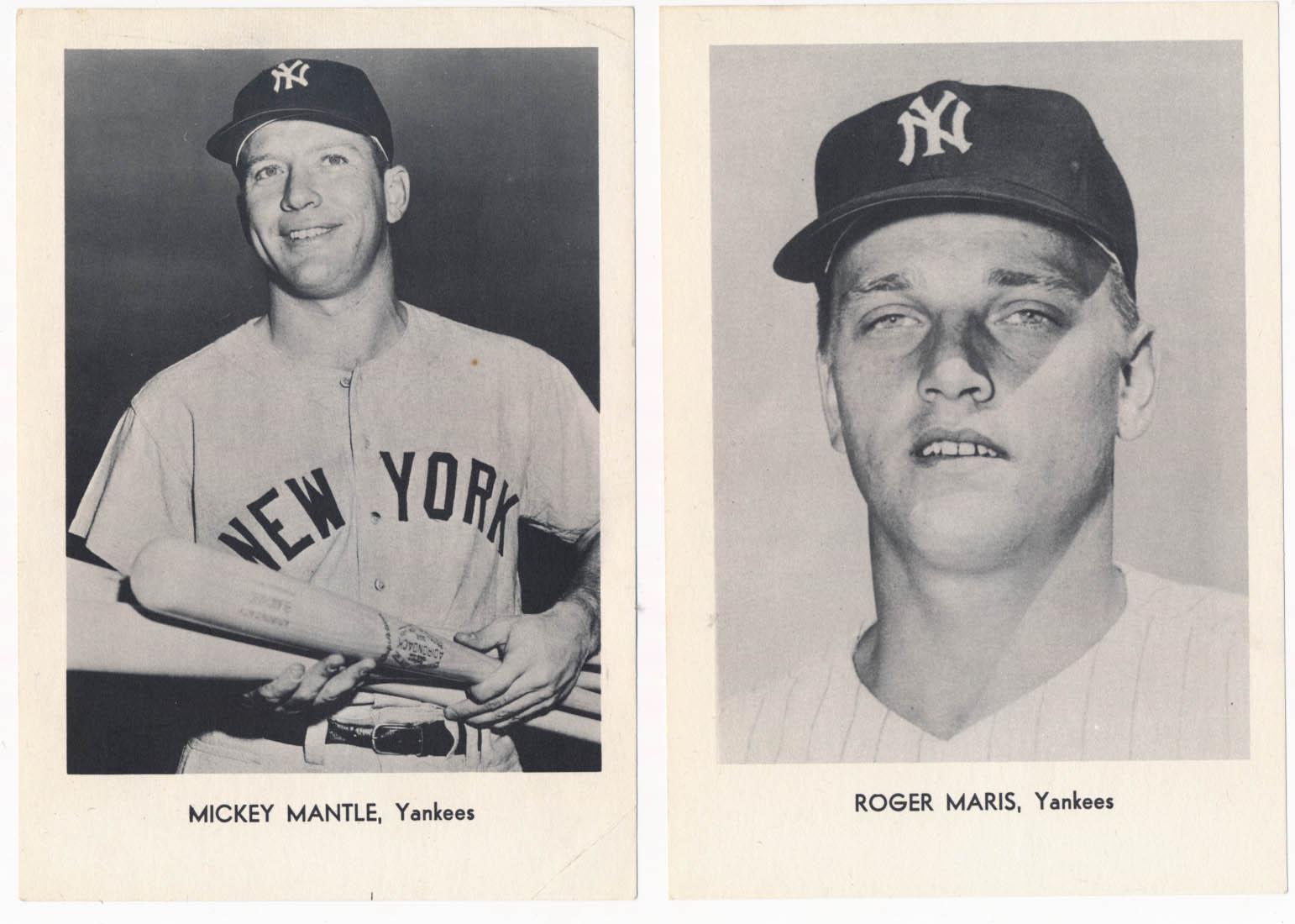 1965 Yankees  Team Issue Set VG-Ex/Ex