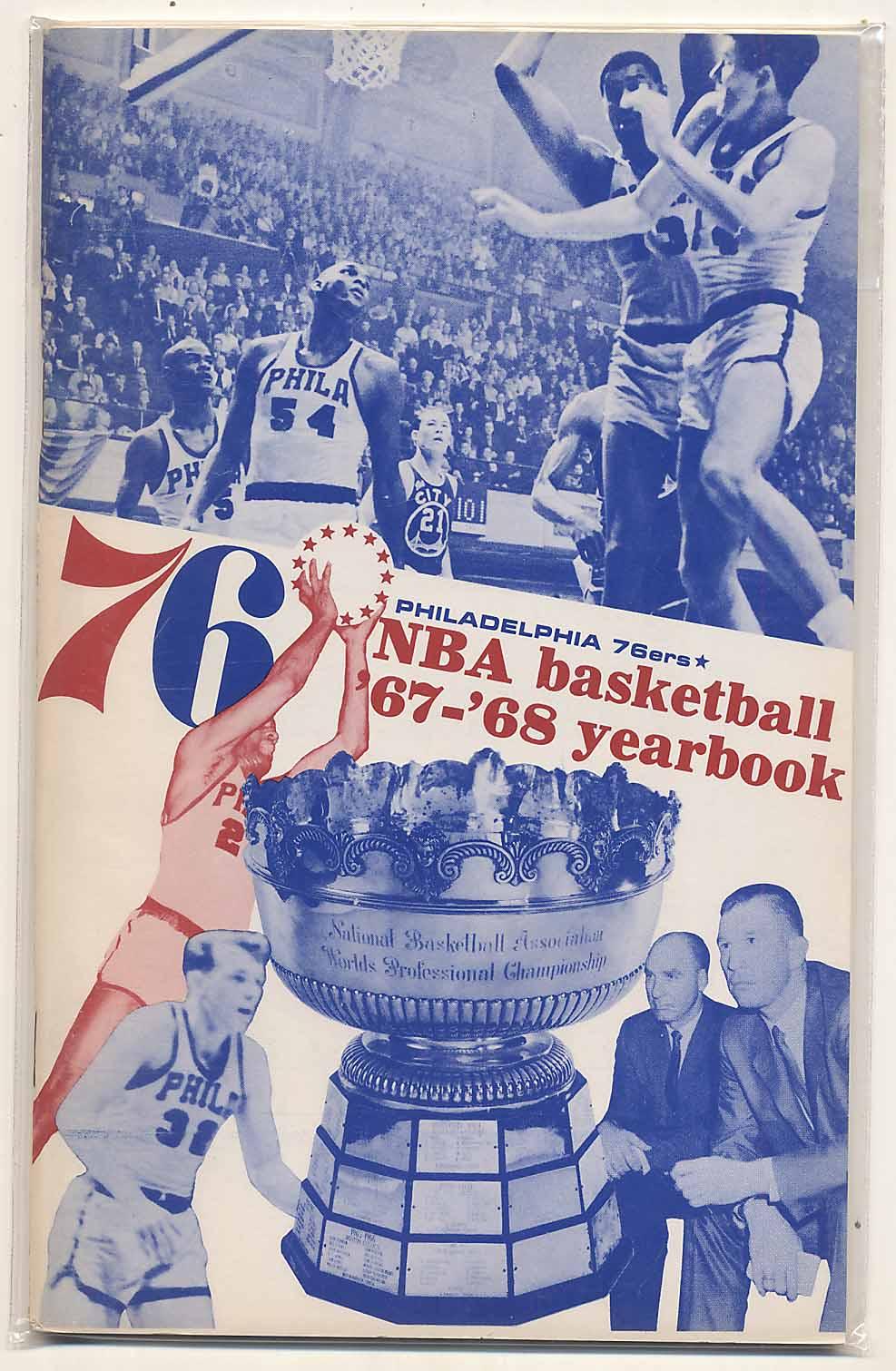 Lot #976 1967 Yearbook  Philadelphia 76ers Cond: Ex-Mt/NM