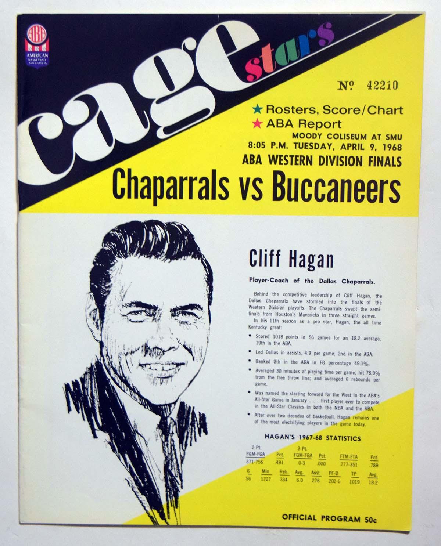 Lot #977 1968 Program  Chaparrals - Bucs (04/09/68) Cond: NM