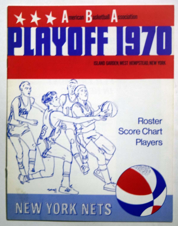 Lot #987 1970 Program  NY Nets Playoffs vs Kentucky Cond: NM