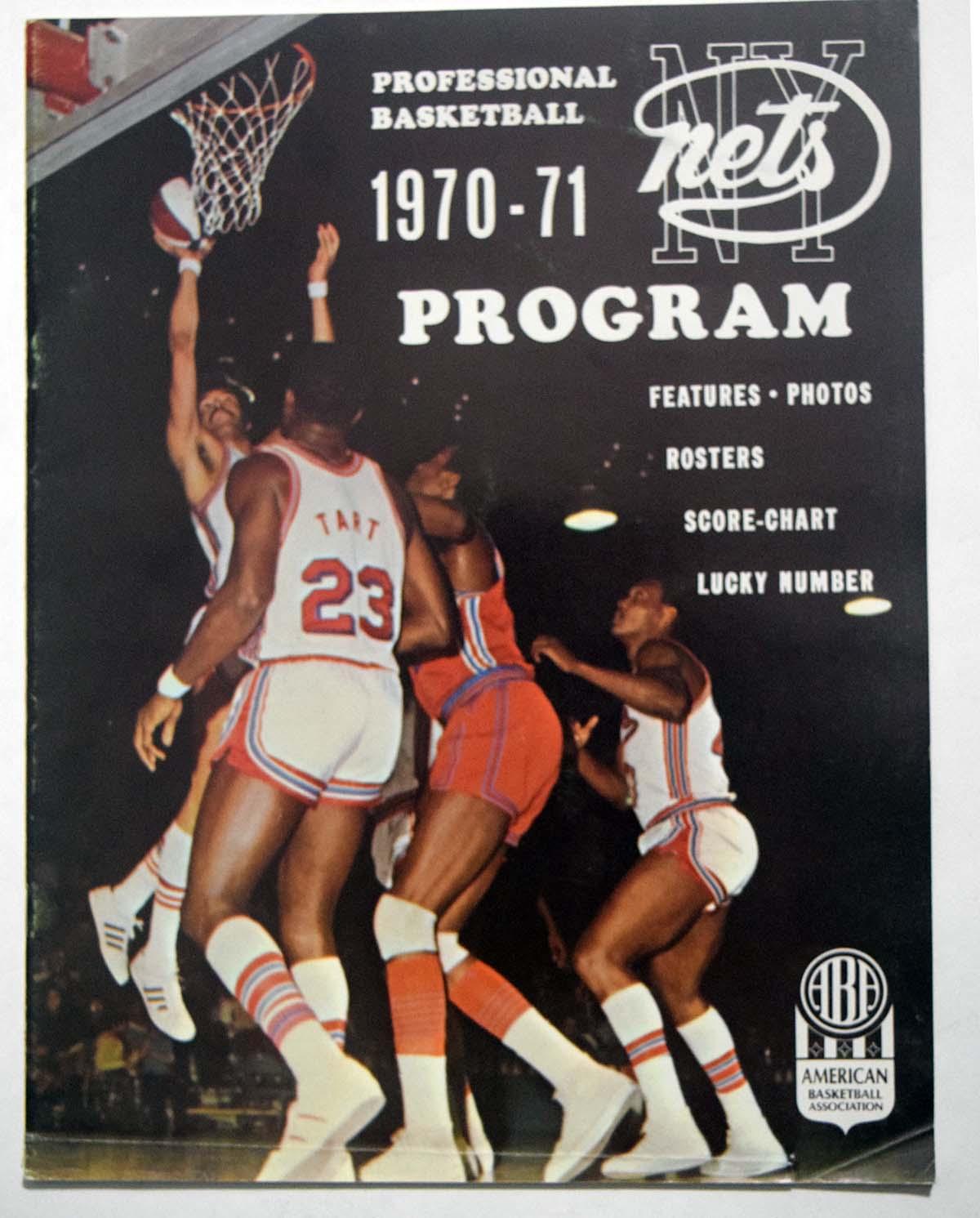 Lot #980 1970 Program  NY Nets/Chaparrals Cond: Ex-Mt/NM