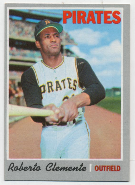 1970 Topps 350 Clemente Ex