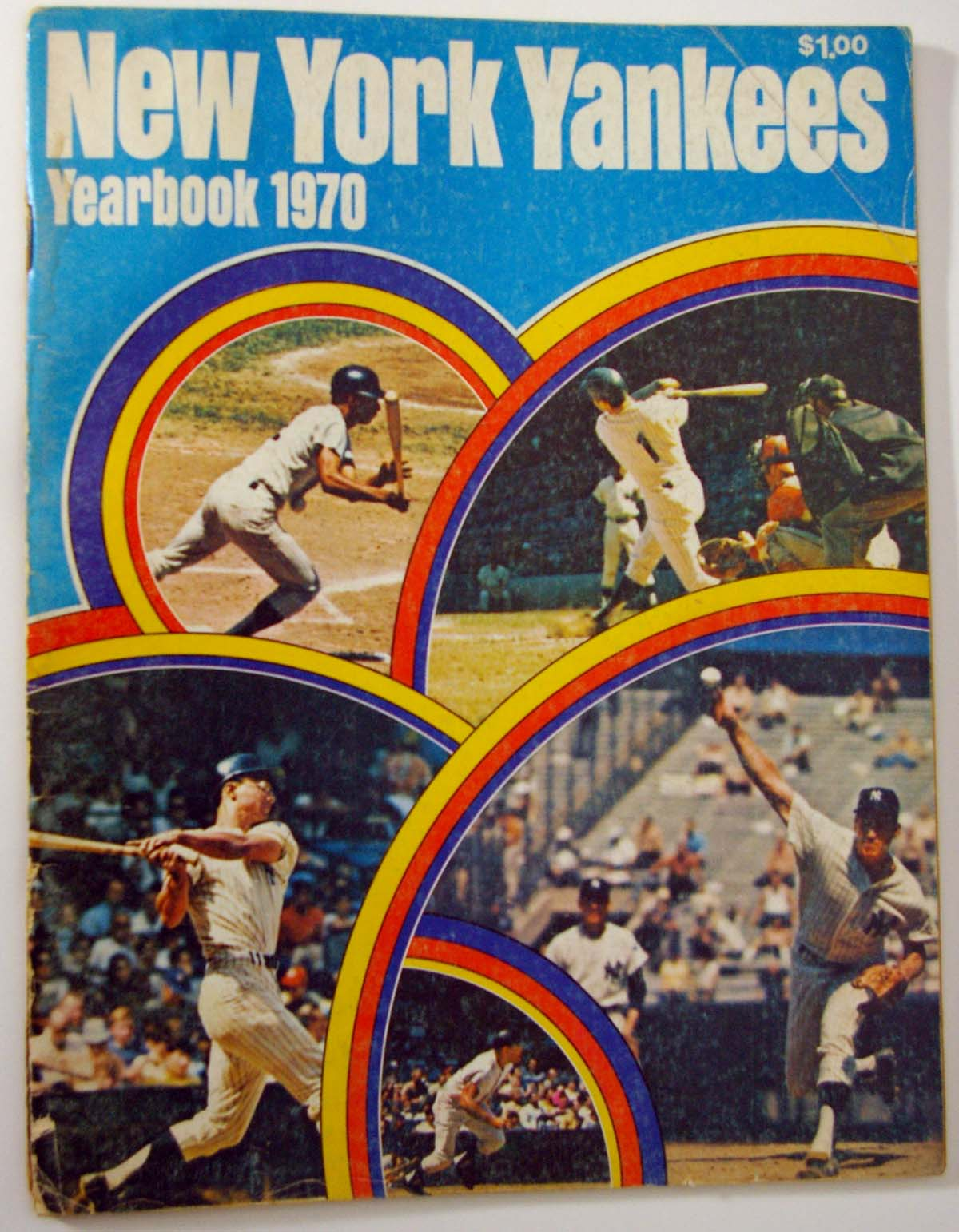 Lot #1450 1970 Yearbook  New York Yankees   Cond: VG