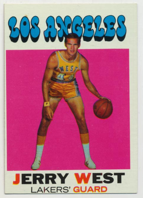 Lot #538 1971 Topps # 50 West Cond: Ex-Mt