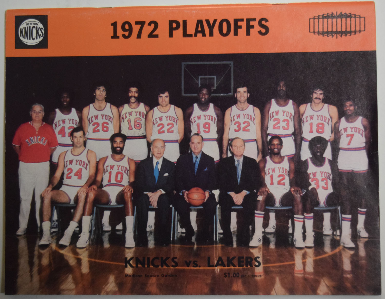 Lot #984 1972 Program  NBA Championship Program At New York Cond: Ex-Mt