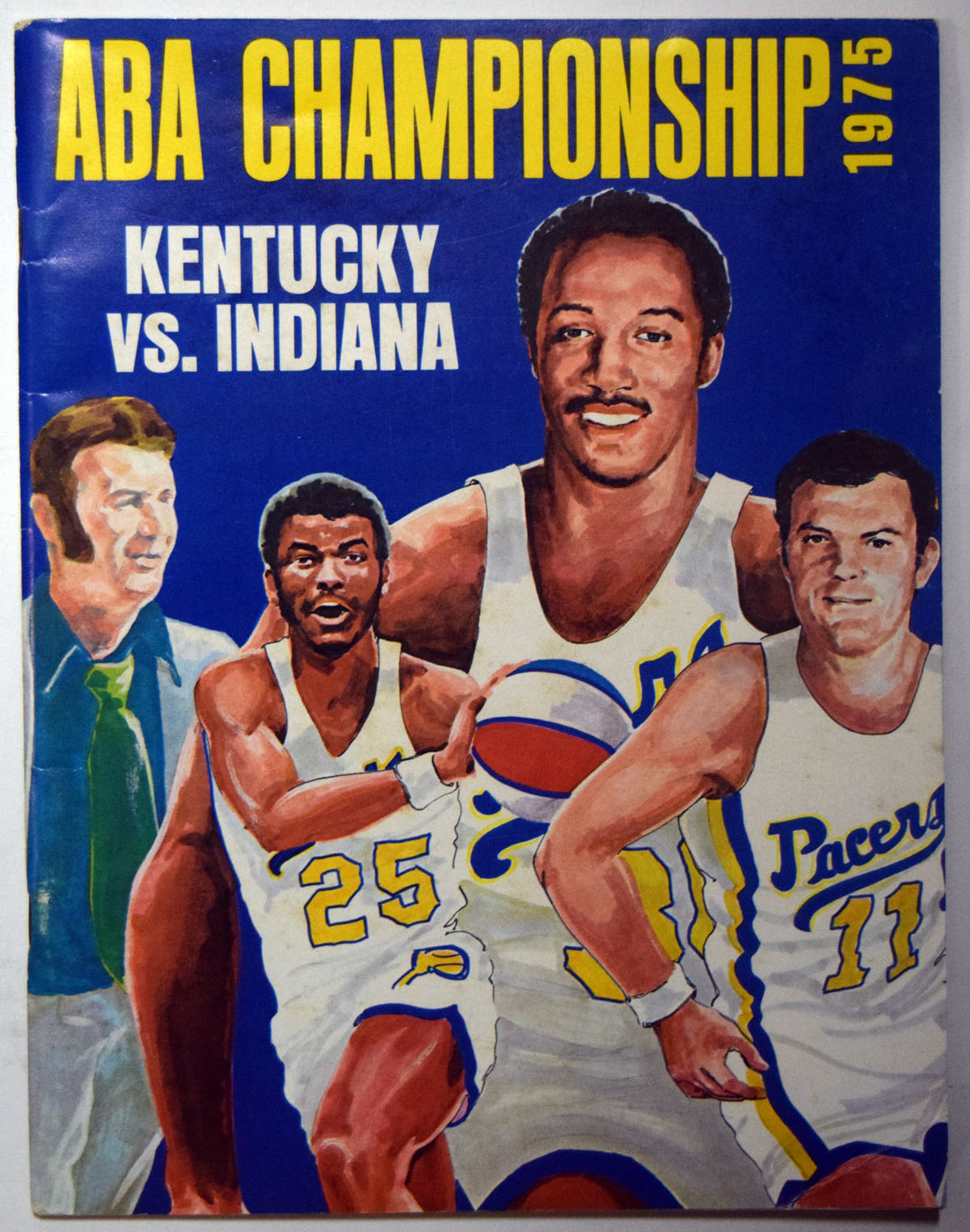 Lot #993 1975 Program  ABA Championship Program Cond: Ex-Mt