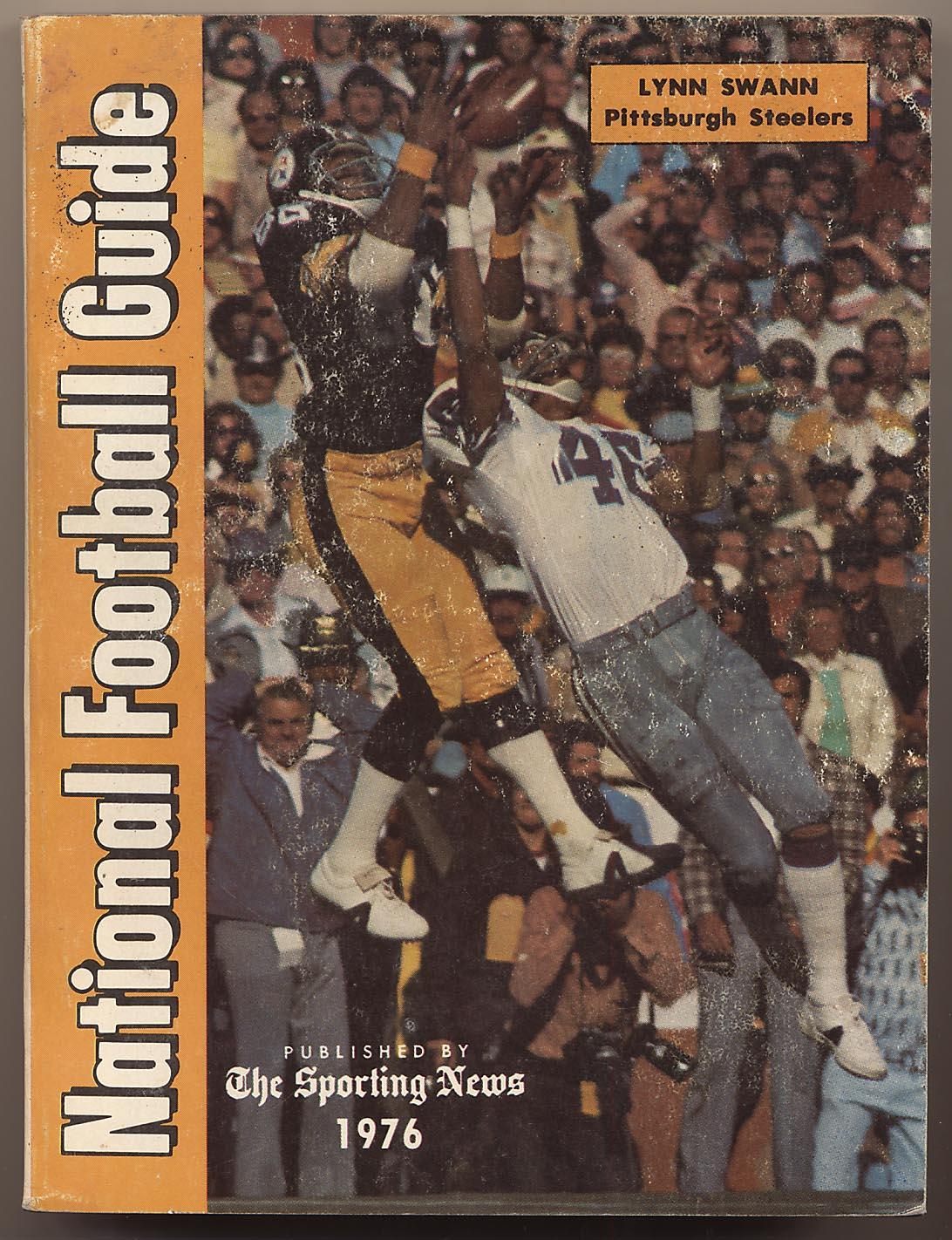 1976 Pub  TSN Football Guide Ex-Mt