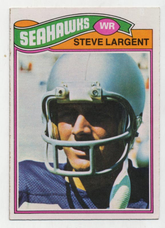 1977 Topps 177 Largent RC Ex-Mt+