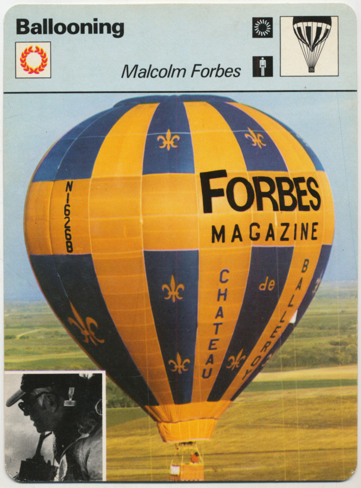 Lot #967 1977 Sportscaster # 6501 Malcolm Forbes Cond: NM