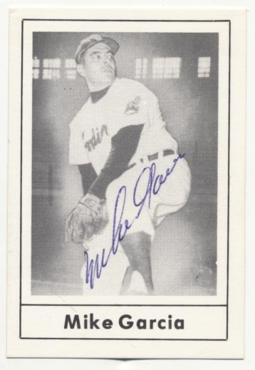 Lot #56 1978 Grand Slam # 112 Mike Garcia (D'85) ( JSA LOA) Cond: 9.5
