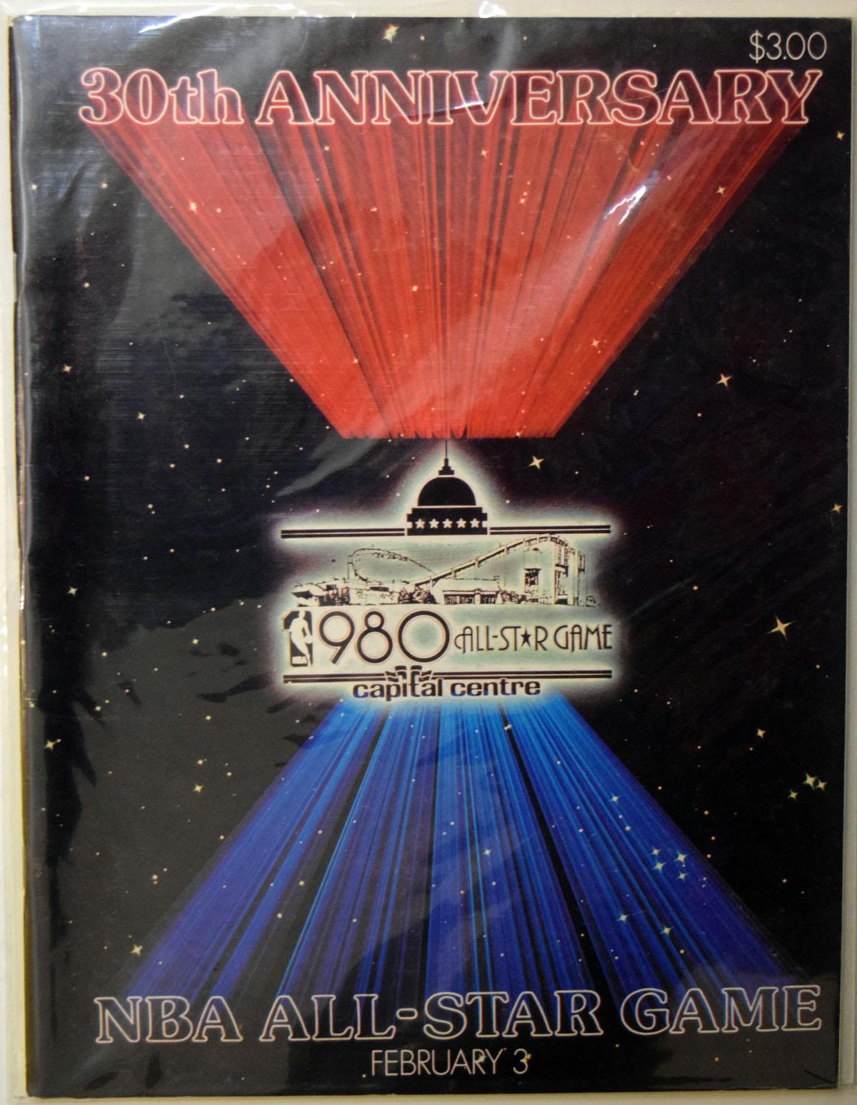 Lot #894 1980 Program  All Star Game Cond: Ex-Mt
