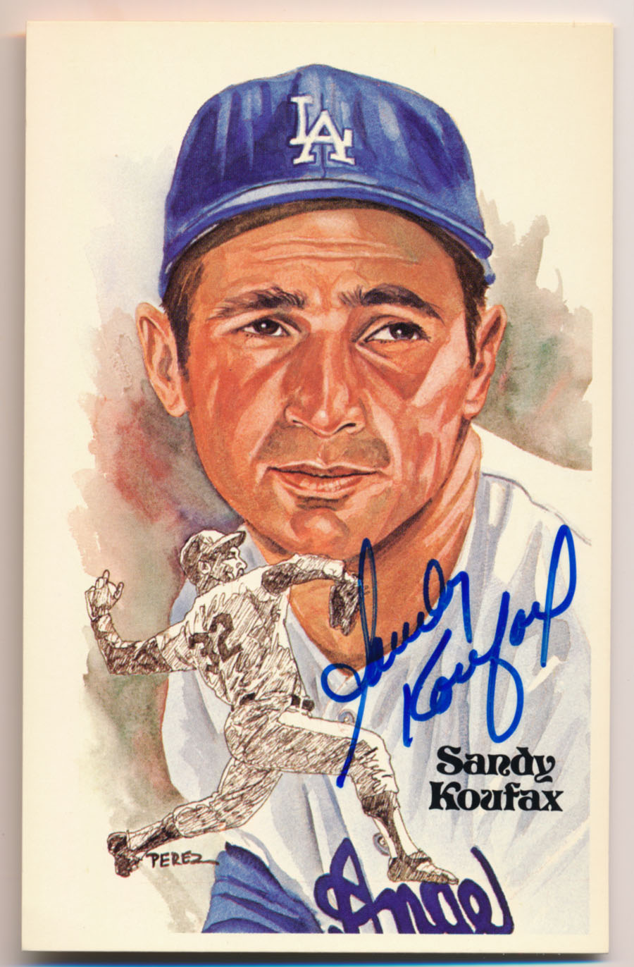 Lot #96 1980 Perez Steele  Koufax Cond: 9.5