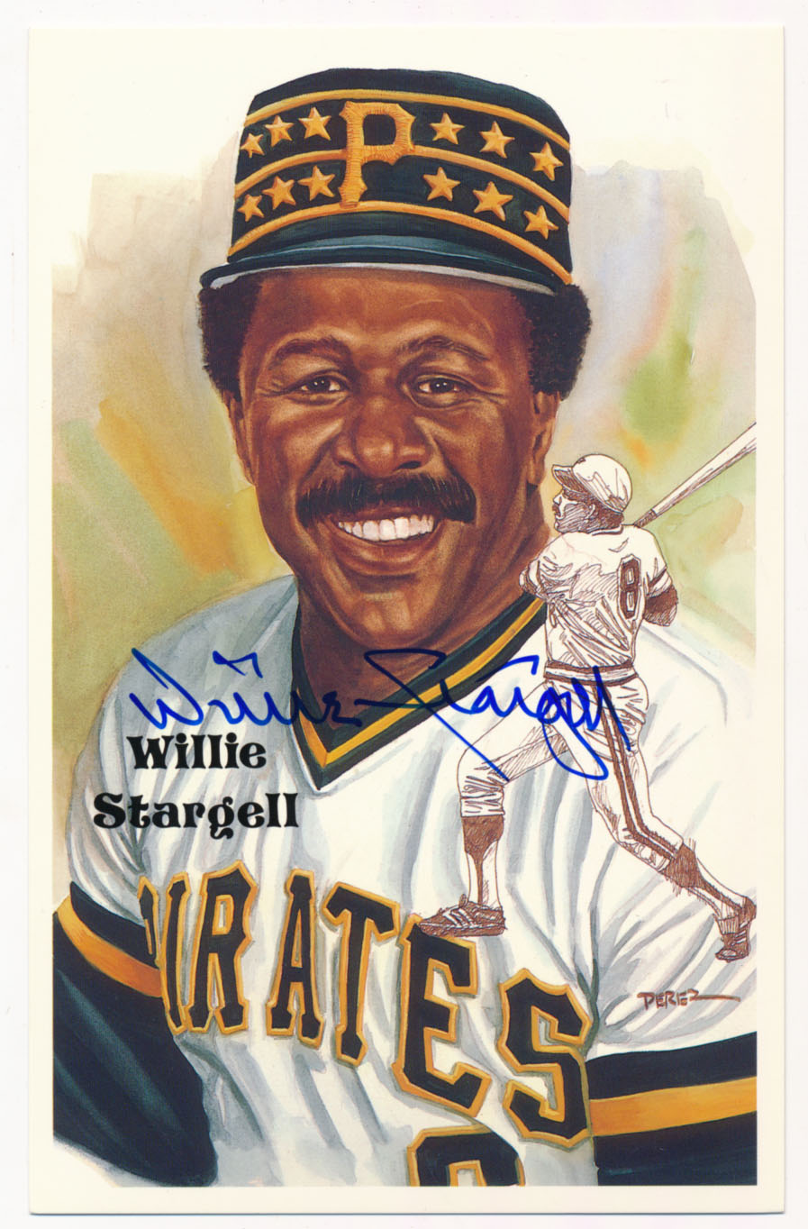 Lot #144 1980 Perez Steele  Stargell Cond: 9