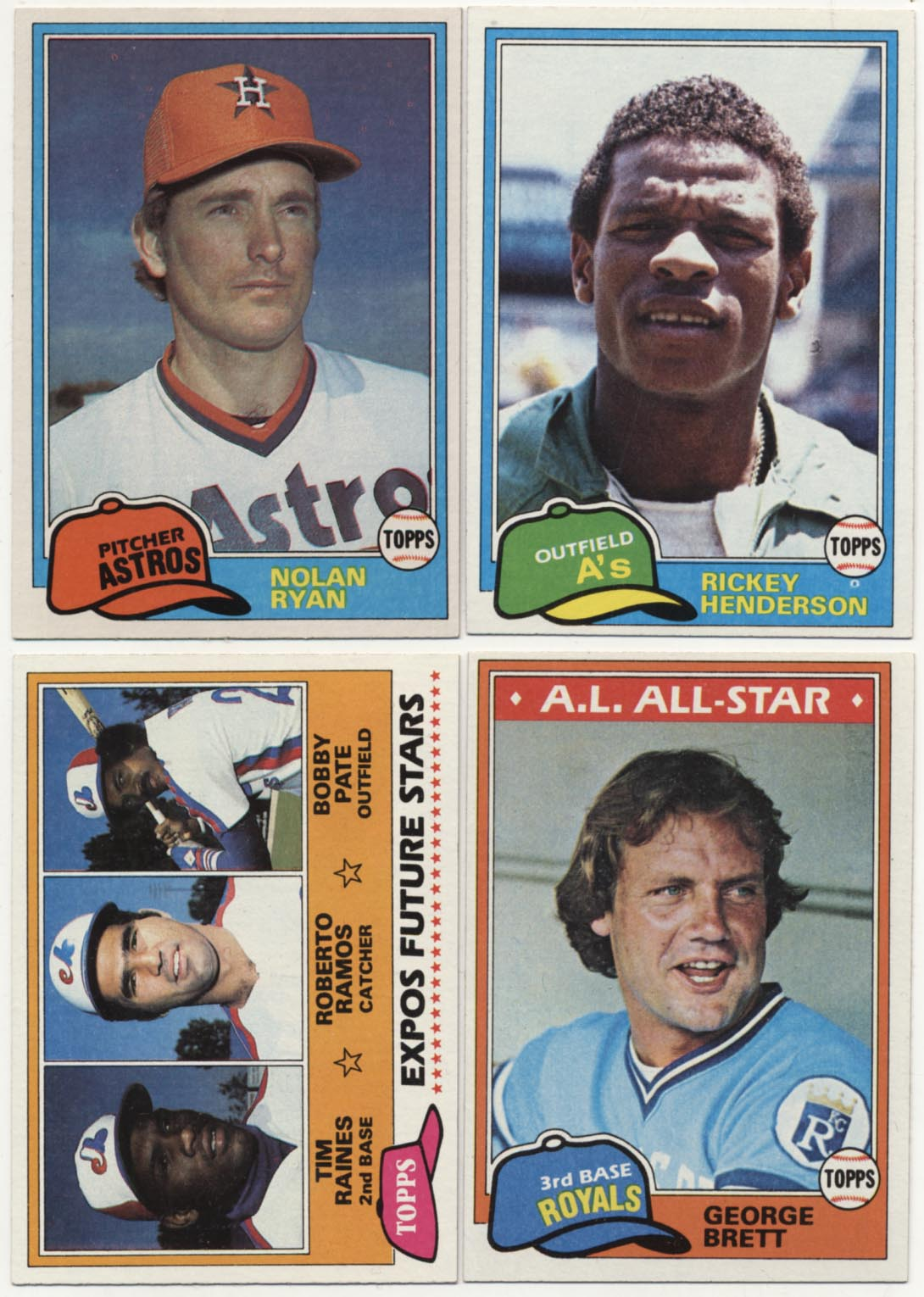 Lot #802 1981 Topps  Complete Set Cond: Nm-Mt