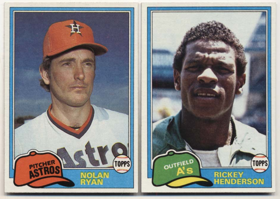 Lot #83 1981 Topps  Complete Set Cond: Nm-Mt