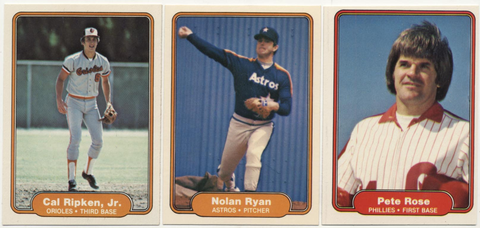 Lot #804 1982 Fleer  Complete Set Cond: Nm-Mt+