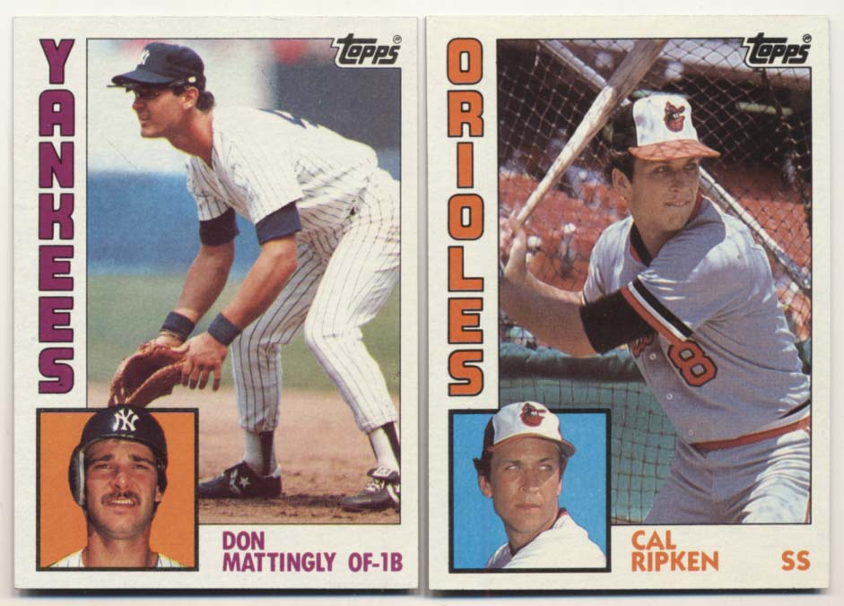 Lot #808 1984 Topps  Complete Set Cond: Nm-Mt