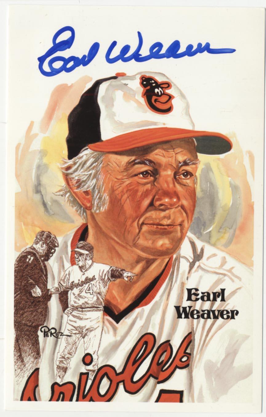 1980 Perez Steele  Weaver, Earl 9.5