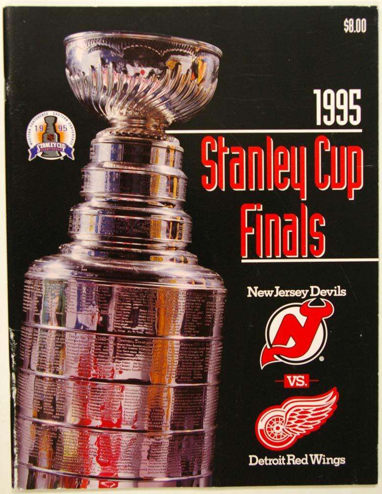 1995 Program  95 Stanley Cup Finals (Devils/Red Wings) NM