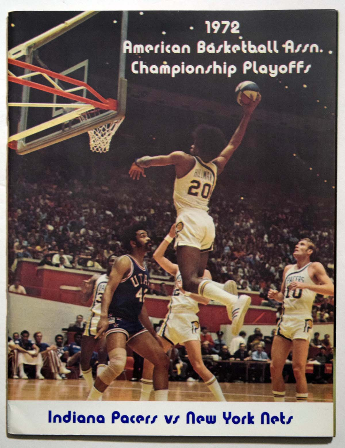 Lot #896 1972 Program   Pacers - Nets ABA Finals Program Cond: Ex-Mt/NM