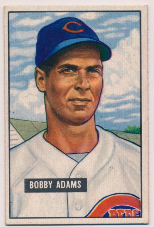Lot #490 1951 Bowman # 288  Cond: Ex-Mt