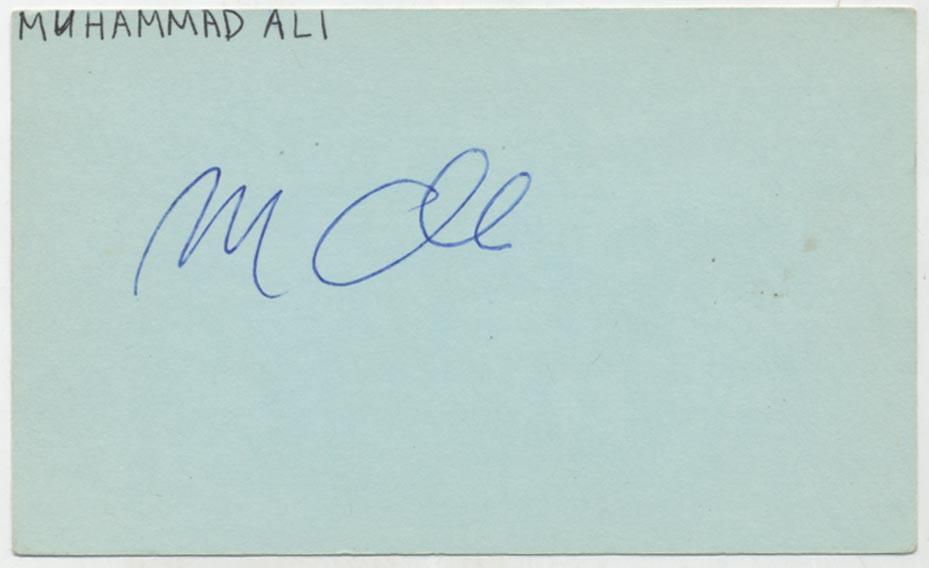 Lot #996  3 x 5  Ali, Muhammed Cond: 9.5