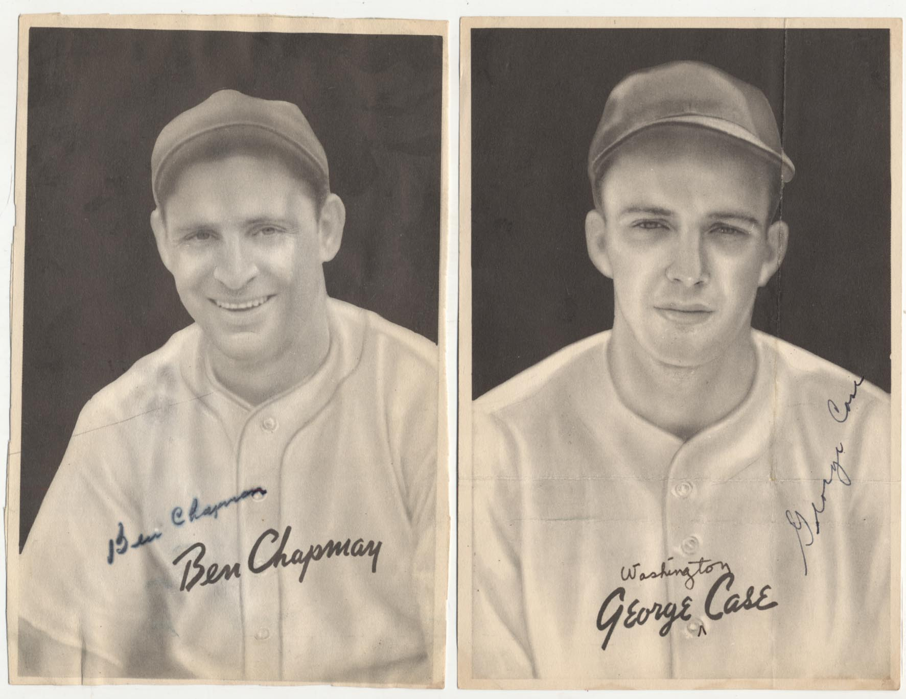 Lot #94 1939 R303B  Collection of 9 different signed cards Cond: 9