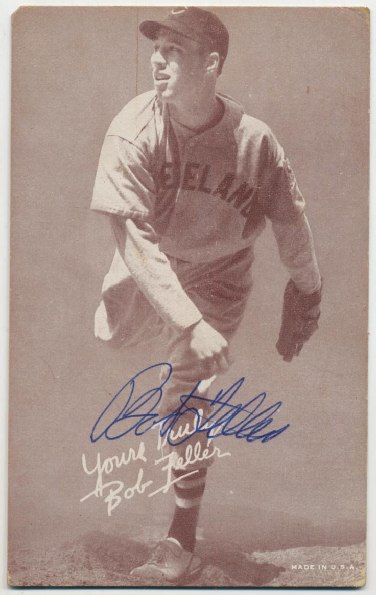 Lot #56 1939 Salutation Exhibit #   Feller Pitching Cond: 9