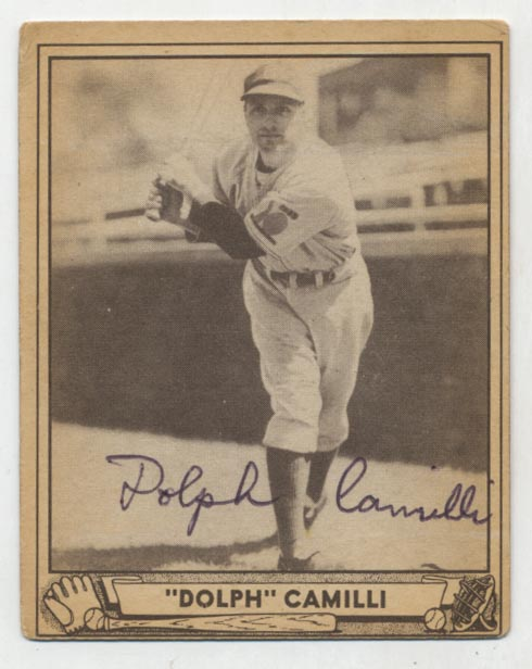 Lot #60 1940 Play Ball # 68 Dolph Camilli Cond: 9