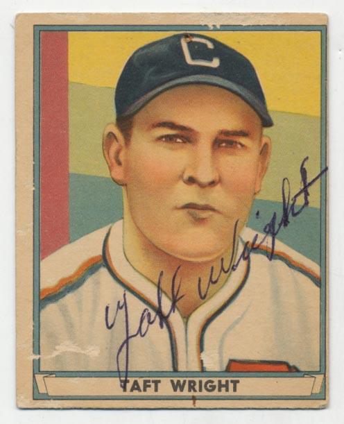Lot #65 1941 Play Ball # 32 Taft Wright Cond: 9