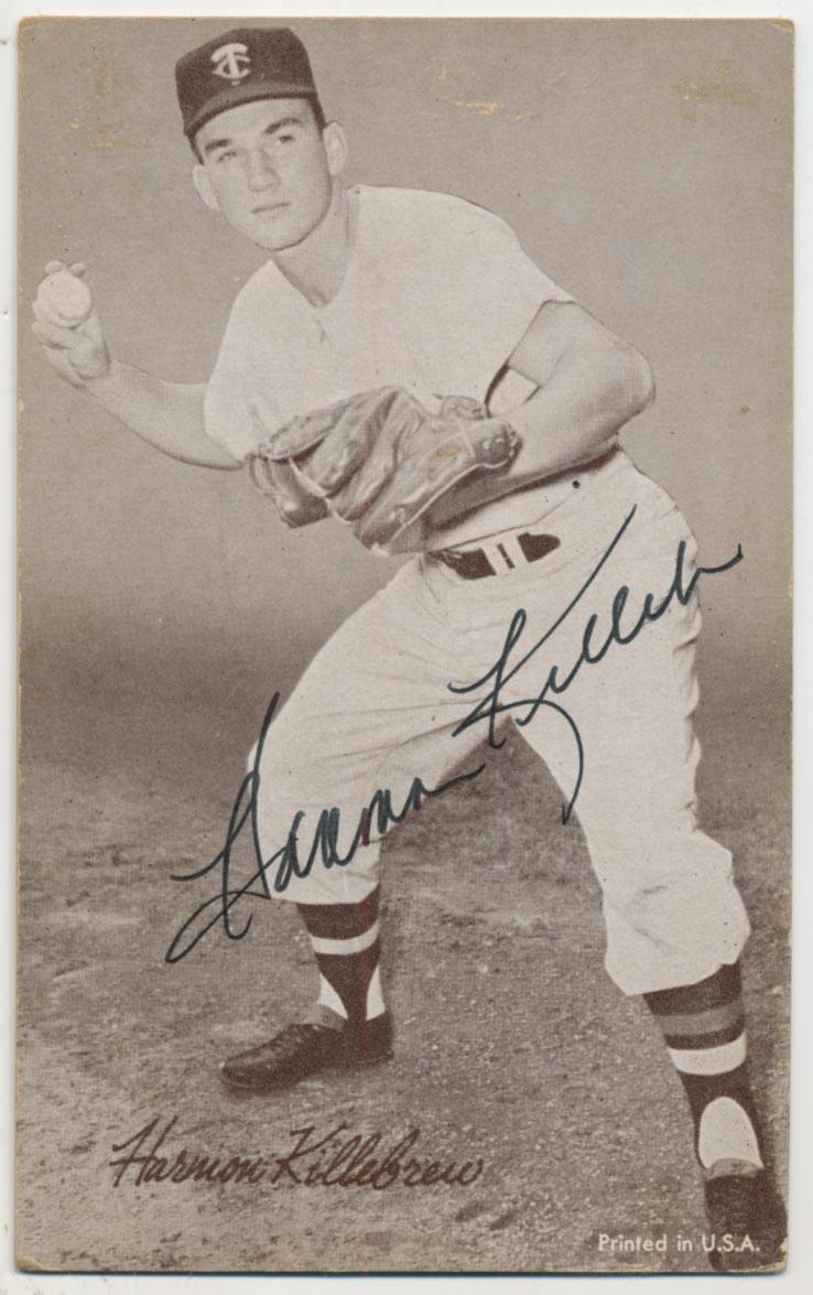Lot #9 1947 Exhibit #   Killebrew Throwing (JSA LOA) Cond: 9.5