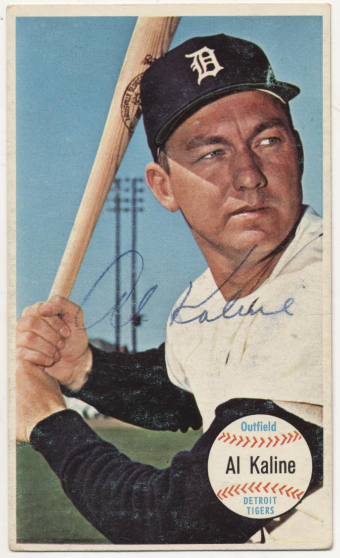 Lot #117 1964 Topps Giant # 12 Kaline Cond: 8.5