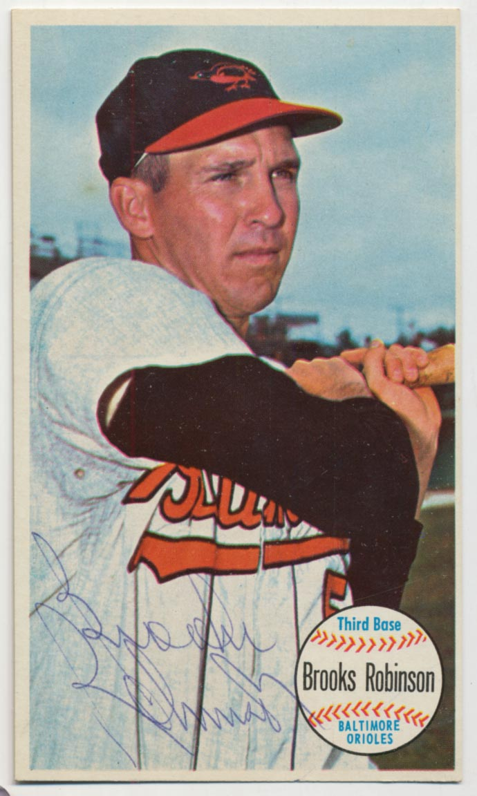 Lot #95 1964 Topps Giant # 50 B Robinson Cond: 9